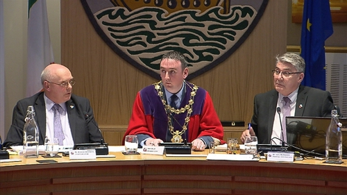 It is Mr Cubbard's first time to serve as the city's first citizen, on what is his second term on the Council