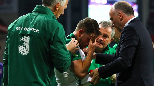 Alan Judge is assessed after the game