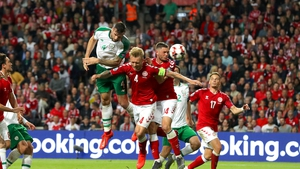 Ireland rallied to secure a draw against Denmark