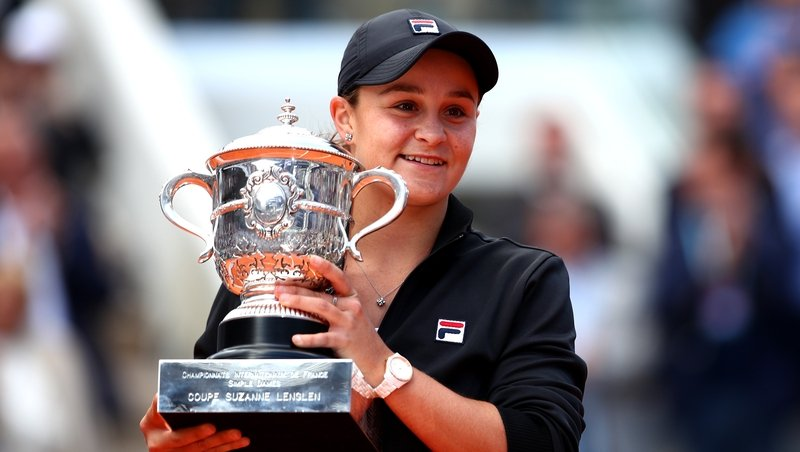 Barty claims WTA gong