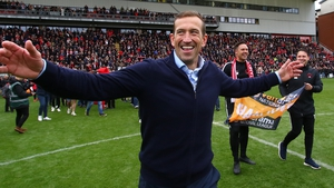 Justin Edinburgh had guided Orient to promotion back to the English Football League
