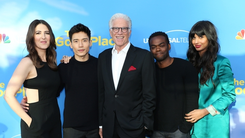 The Good Place gang