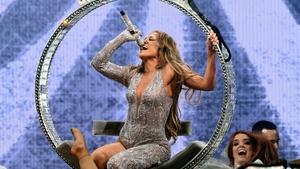 Jennifer Lopez began her tour last night