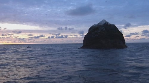 Rockall lies around 240 nautical miles northwest of Donegal