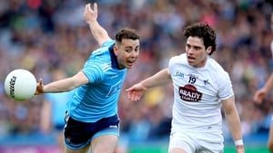 Cormac Costello and Chris Healy of Kildare