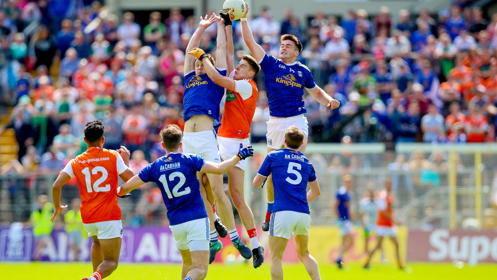Image - Cavan beat Armagh in an Ulster semi-final replay