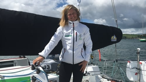Joan Molloy is taking part in the La Solitaire Urgo Le Figaro race