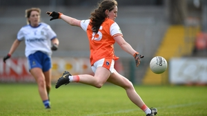 Niamh Reel scores Armagh's second goal