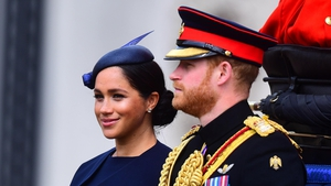 The Duchess of Sussex appeared at Trooping the Colour.