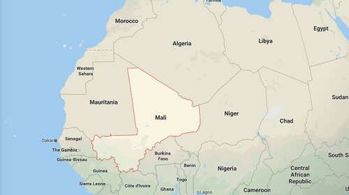 There was no immediate claim of responsibility but the massacre in Mali (Pic: Google Maps)