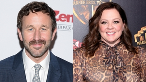 Chris O'Dowd and Melissa McCarthy previously starred together in Bridesmaids and St Vincent
