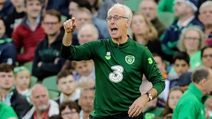 Mick McCarthy made his presence felt on the line