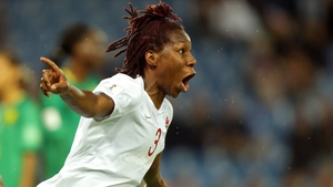 Kadeisha Buchanan of Canada celebrates after scoring
