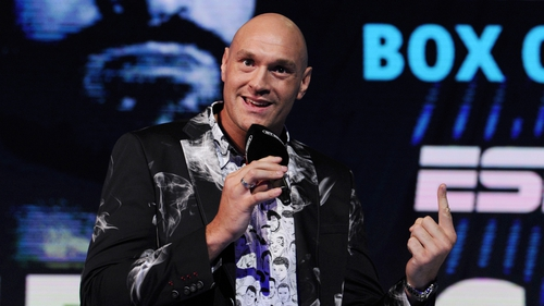Tyson Fury is planning a party for after the fight