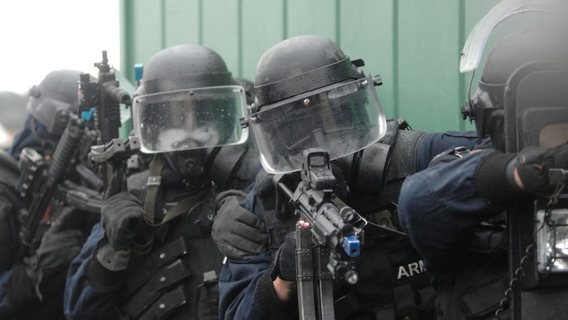 Members of the Army Ranger Wing take part in an exercise. Photo: Óglaigh na hÉireann via Flickr