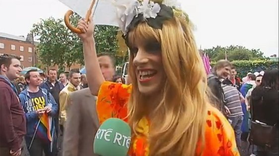 Shirley Temple Bar at Pride in 2008