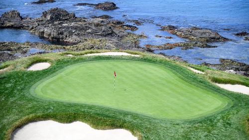 The US Open takes place at Pebble Beach this weekend