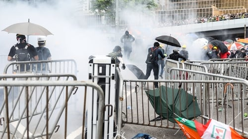 Hong Kong has been plunged into a political crisis as opposing sides battle for Hong Kong's future