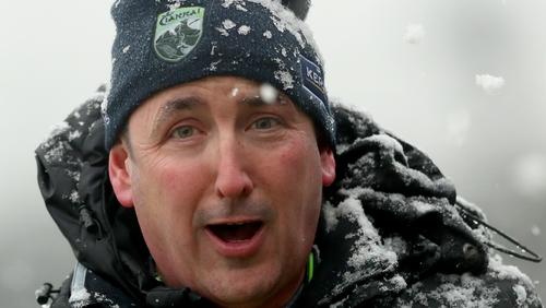 Snow, rain or shine - Kerry manager Fintan O'Connor