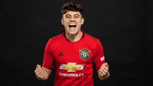 """Daniel James: """"This is one of the best days of my life and a challenge I am really looking forward to."""""""