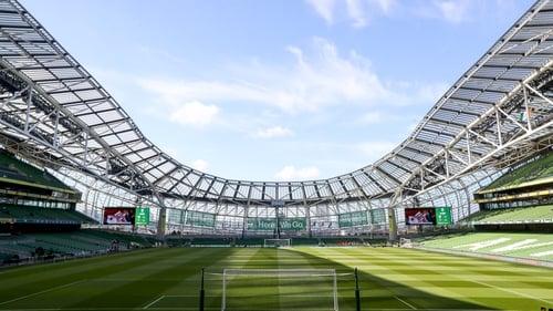 The Aviva Stadium will play host to Euro 2020 games