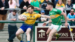 Conor Devaney in action against Leitrim in the Connacht Championship quarter-final