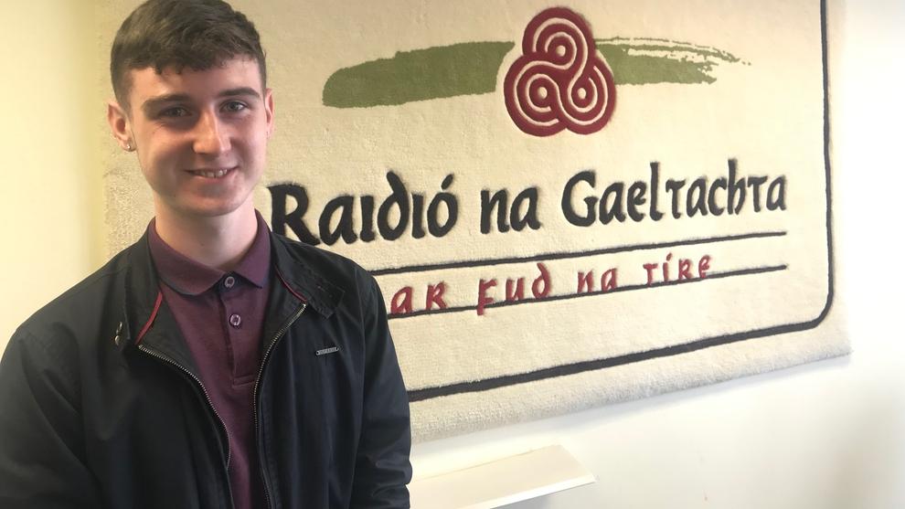 Comórtas Tráchtaireachta buaite ag Gearóid Ó Droighneáin