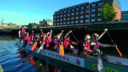 Dr Eddie discovers the world of dragon boat racing