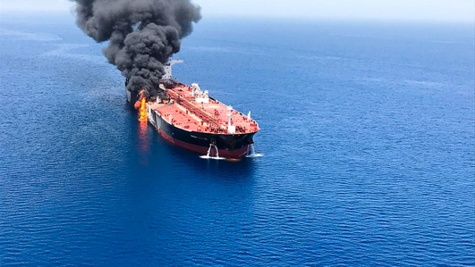 Saudi Crown Prince accuses Iran of Gulf tanker attacks