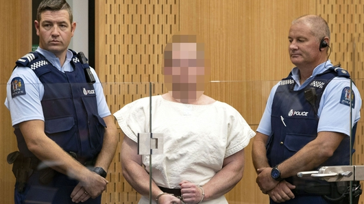 Man accused of Christchurch mosque killings pleads not guilty