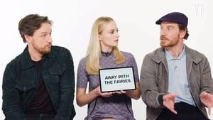 James McAvoy, Sophie Turner and Michael Fassbender explain slang