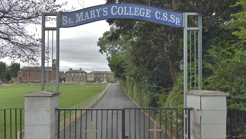 The pigeon made its presence felt at St Mary's College in Rathmines (pic: Google Maps)