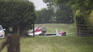 The men were travelling in a BRM NG5 - a two-seater aircraft