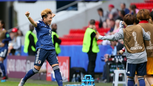 Japan beats Scotland in Women's World Cup