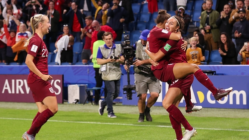 Jodie Taylor scored the only goal of the night as England edged out Argentina