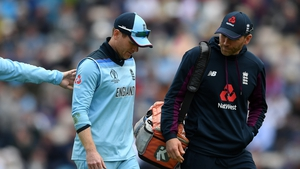 Morgan is an injury doubt for Tuesday's Afghanistan clash