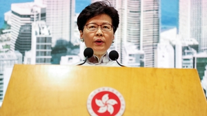 Hong Kong chief executive Carrie Lam has said she has no intention of quitting
