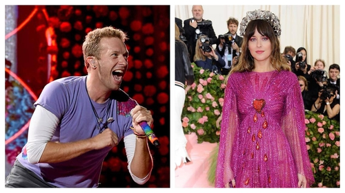 Chris Martin Dakota Johnson 'split' after almost two years together