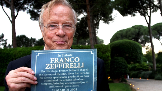 Oscar-nominated director Franco Zeffirelli dies at 96