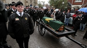 Mourners at his funeral at St Peter's Cathedral were told that Billy McKee died 'unrepentant'