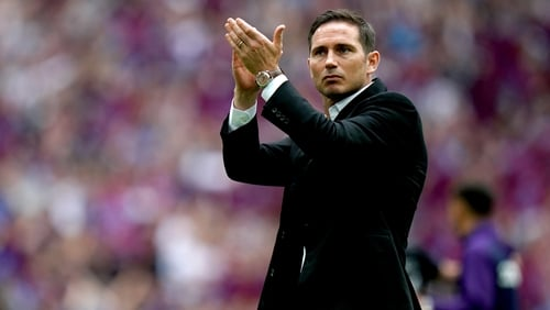 Frank Lampard is back at Chelsea