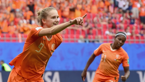 Vivianne Miedema's goalscoring prowess will be vital if the Dutch are to have a chance in Sunday's final