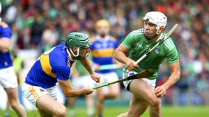 Aaron Gillane and Cathal Barrett in action at Thurles