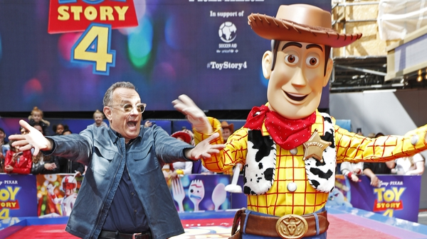 Tom Hanks at the premiere of Disney's Toy Story 4