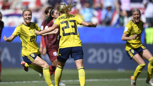 Sweden made it two wins from two
