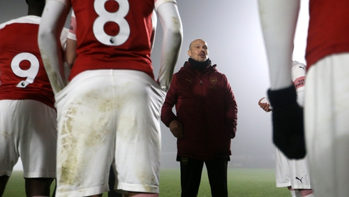 Freddie Ljungberg has been working with the Under-23 side at Arsenal