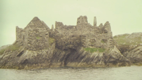 Inishbofin Fort off the coast of Connemara