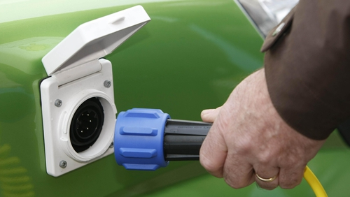 Measures have been announced to increase the number of charge points for electric vehicles