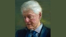 The portrait of Bill Clinton described as an Irish painting by artist Colin Davidson
