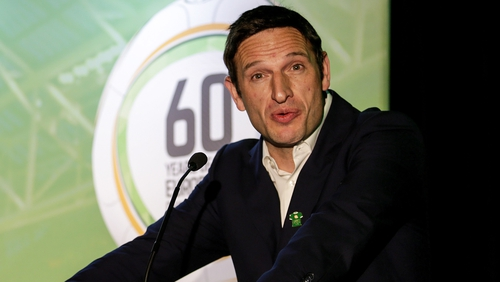 Noel Mooney is two weeks into a six-month secondment with the FAI